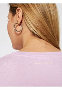 Marc O'Polo T-Shirt M02 2100 51117 Fioletowy Regular Fit. Typ kołnierza: polo. Kolor: fioletowy