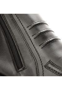 Czarne buty zimowe Lasocki For Men z cholewką, casualowe