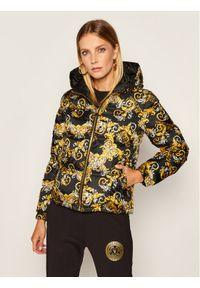 Kurtka puchowa Versace Jeans Couture w kolorowe wzory
