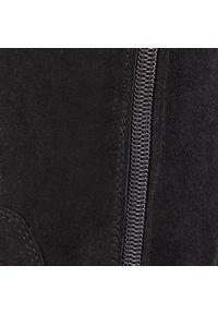 Lasocki - Muszkieterki LASOCKI - 70814-06 Black. Okazja: na co dzień. Kolor: czarny. Szerokość cholewki: normalna. Wysokość cholewki: przed kolano, za kostkę. Materiał: skóra, zamsz, materiał. Sezon: zima, jesień. Obcas: na obcasie. Styl: casual. Wysokość obcasa: średni