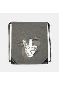 Szara torba Sinsay z motywem z bajki