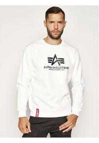 Biała bluza Alpha Industries