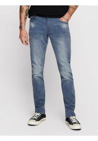 Only & Sons - ONLY & SONS Jeansy Loom 22013627 Niebieski Slim Fit. Kolor: niebieski