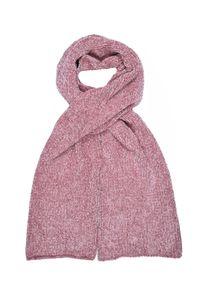 Różowy szalik TOP SECRET w kolorowe wzory