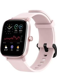 AMAZFIT - Smartwatch Amazfit GTS 2 Mini Różowy (W2018OV2N). Rodzaj zegarka: smartwatch. Kolor: różowy