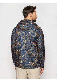Niebieska kurtka przejściowa columbia z nadrukiem