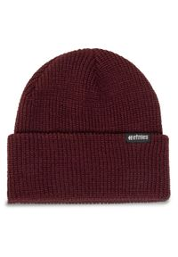 Czerwona czapka zimowa Etnies