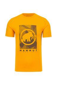 Mammut - T-shirt MAMMUT TROVAT. Materiał: tkanina. Wzór: nadruk. Sport: outdoor