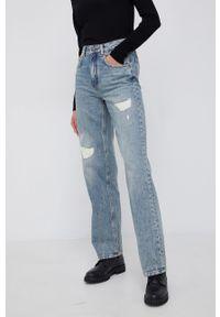 Drykorn - Jeansy Crest. Okazja: na co dzień. Stan: podwyższony. Kolor: niebieski. Styl: casual