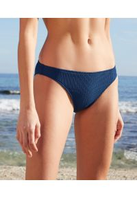 Niebieskie dół bikini Etam