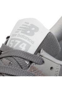 Szare sneakersy New Balance z cholewką, na co dzień