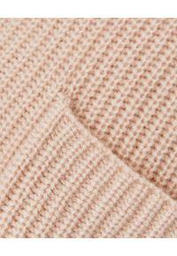 HEMISPHERE - Kaszmirowy sweter z golfem. Typ kołnierza: golf. Kolor: brązowy. Materiał: kaszmir. Wzór: ze splotem