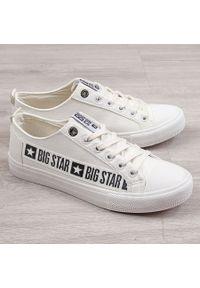 Białe tenisówki Big-Star