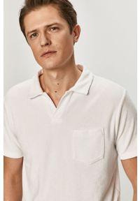 Biała koszulka polo Polo Ralph Lauren casualowa, krótka