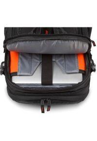 Czarna torba na laptopa TARGUS w paski, sportowa