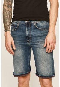 Niebieskie szorty Tommy Jeans casualowe, na co dzień