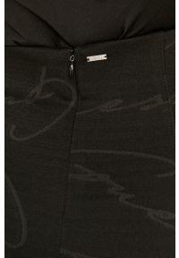 Czarna spódnica Guess casualowa, z podwyższonym stanem