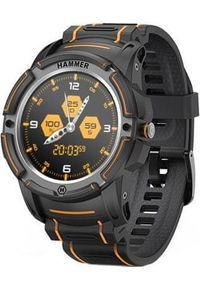 MYPHONE - myPhone Hammer Watch, Orange Black. Kolor: czarny. Styl: sportowy