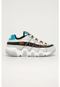 Wielokolorowe sneakersy Fila z okrągłym noskiem, na sznurówki