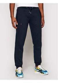 Superdry Spodnie dresowe Classic M7010094A Granatowy Regular Fit. Kolor: niebieski. Materiał: dresówka