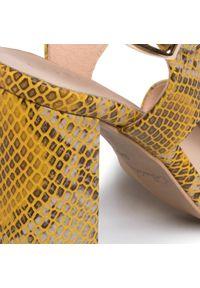 Żółte sandały Baldaccini eleganckie #7