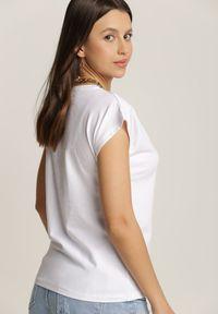 Renee - Biały T-shirt Calyphiax. Kolor: biały