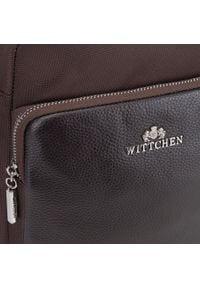 Wittchen - Torba. Kolor: brązowy. Materiał: poliester. Wzór: jednolity #4