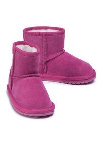 Różowe buty zimowe EMU Australia