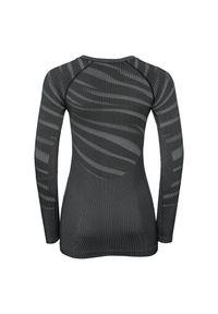 Bielizna Odlo Performance Black Shirt W 187081. Materiał: skóra. Długość rękawa: długi rękaw. Długość: długie
