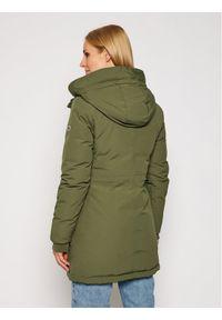 Zielona kurtka zimowa Tommy Jeans