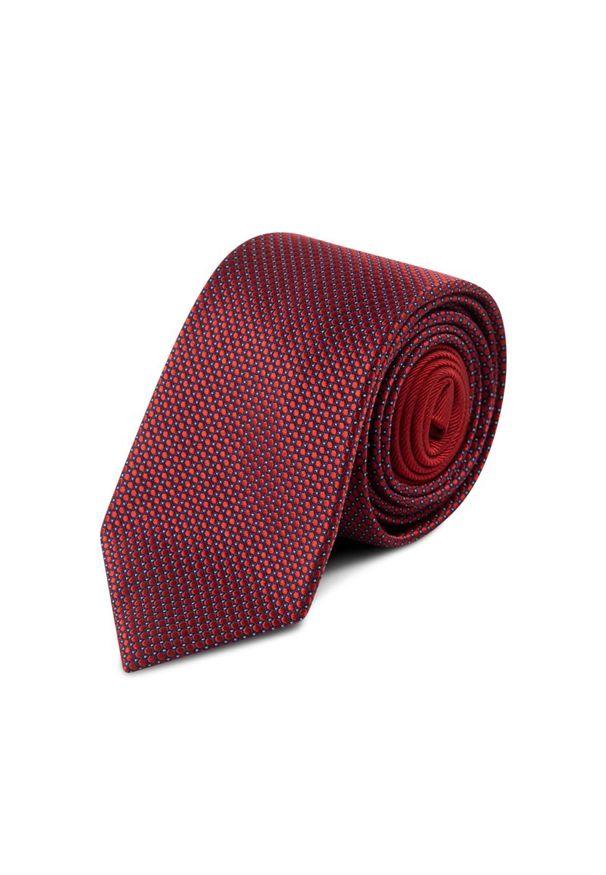 Czerwony krawat Tommy Hilfiger Tailored