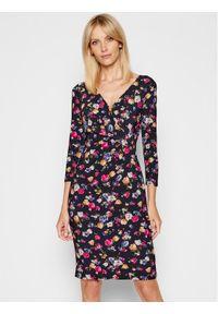Lauren Ralph Lauren Sukienka codzienna 250834097001 Granatowy Regular Fit. Okazja: na co dzień. Kolor: niebieski. Typ sukienki: proste. Styl: casual