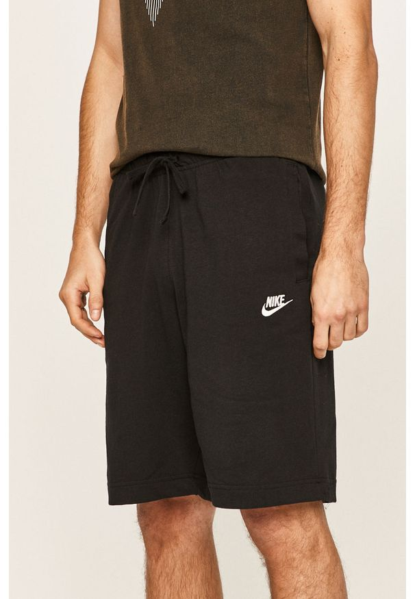 Czarne szorty Nike Sportswear na co dzień, casualowe