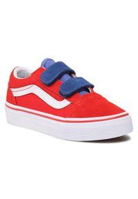 Vans Sneakersy Old Skool V VN0A4BUV33M1 Czerwony. Kolor: czerwony. Model: Vans Old Skool