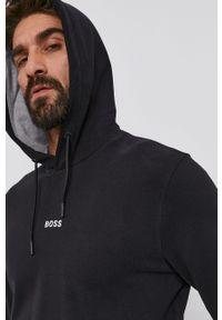 BOSS - Boss - Bluza Boss Casual. Okazja: na co dzień. Kolor: czarny. Materiał: poliester. Styl: casual