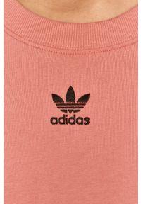 Bluzka adidas Originals casualowa, z aplikacjami, na co dzień