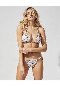 PRAIA BEACHWEAR - Białe bikini z printem Wildest Moments. Kolor: biały. Materiał: tkanina. Wzór: nadruk