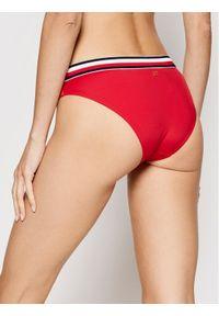 TOMMY HILFIGER - Tommy Hilfiger Dół od bikini UW0UW02698 Czerwony. Kolor: czerwony