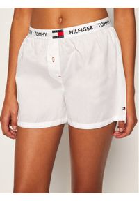 Tommy Hilfiger Szorty piżamowe Woven UW0UW02284 Biały