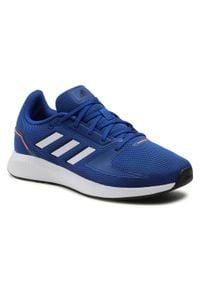 Adidas - Buty adidas - Runfalcon 2.0 FZ2802 Royblu/Ftwwht/Cblack. Kolor: niebieski. Materiał: materiał. Szerokość cholewki: normalna