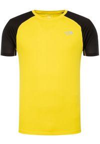 Żółta koszulka sportowa The North Face