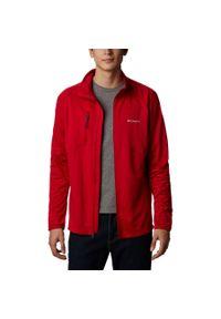 Czerwona bluza columbia