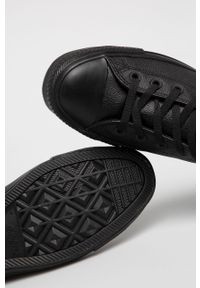 Czarne wysokie trampki Converse z cholewką