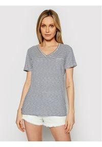 Superdry T-Shirt Pocket W1010521A Granatowy Regular Fit. Kolor: niebieski
