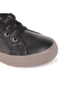 Czarne sneakersy sorel na co dzień, z cholewką