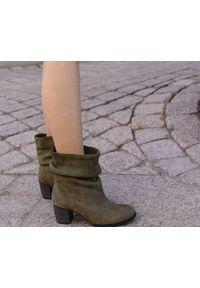 Botki Zapato wąskie, bez zapięcia