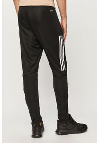 Czarne spodnie dresowe adidas Performance