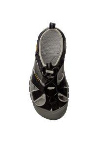 Czarne sandały keen na spacer, sportowe