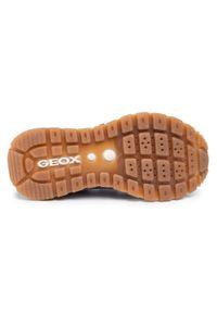 Półbuty Geox na rzepy, z cholewką