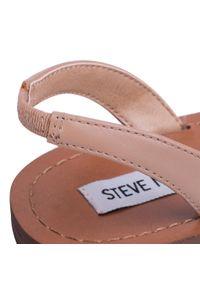 Brązowe sandały Steve Madden z aplikacjami, casualowe, na co dzień